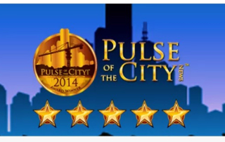 roofing and gutters company in marietta awarded 2014 Pulse of the City award